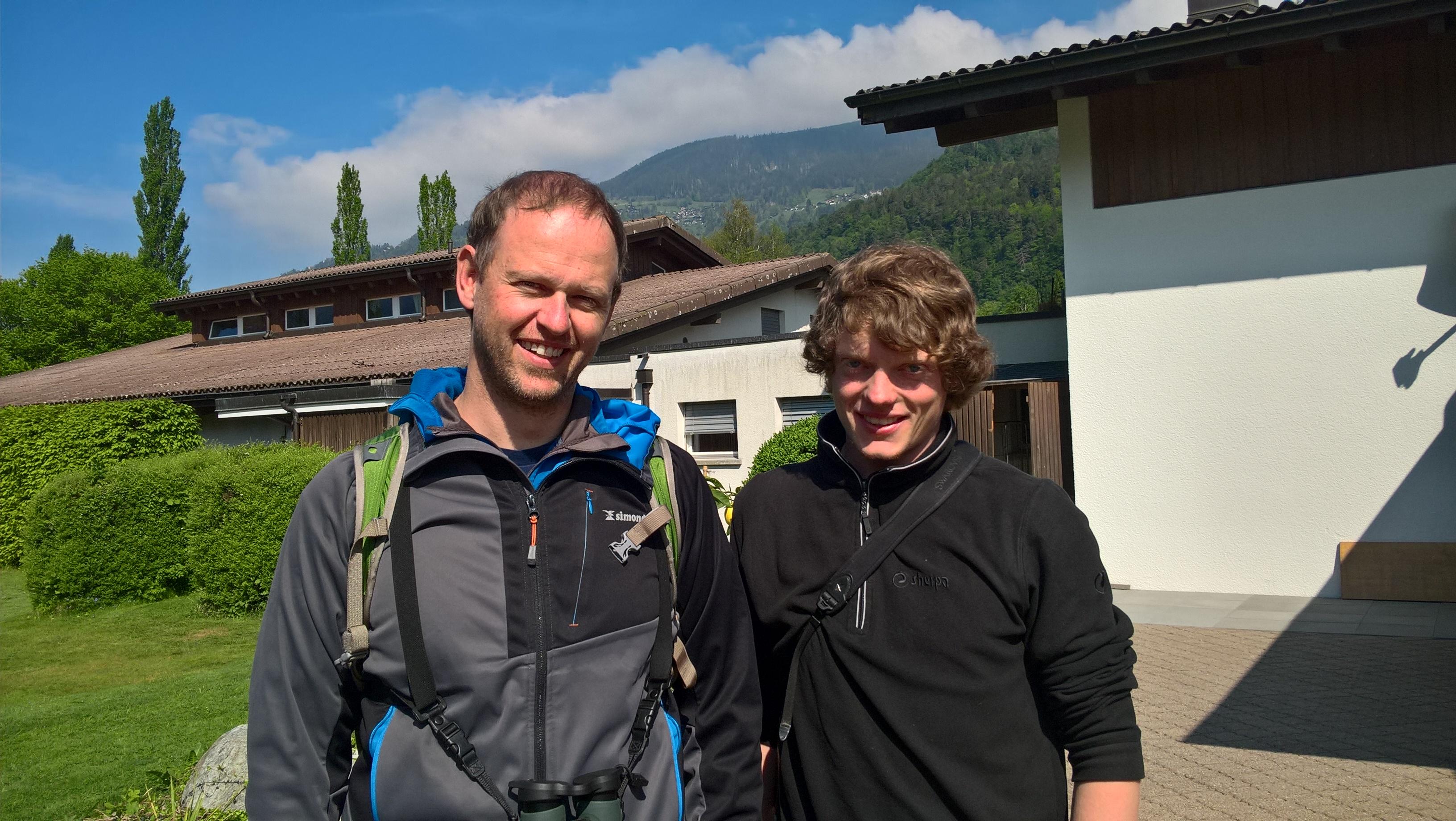 Marco Hammel und Michael Straubhaar